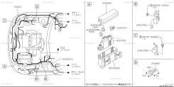 Проводка двс. Nissan Teana, J31, TNJ31, PJ31 Двигатели: QR25DE, VQ35DE, VQ23DE