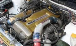 Двигатель в сборе. Nissan Skyline GT-R Nissan Laurel, GC35, GNC35, HC35, SC35, GCC35 Двигатель RB26DETT