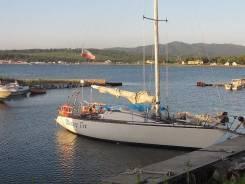 Продается парусная яхта лэс-35 в Находке. Длина 11,36м., 1989 год год