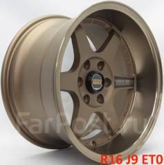 Новые! RAYS TE37 R16 J9 ET0 6X114.3 [2537]. 9.0x16, 6x114.30, ET0, ЦО 66,1мм.