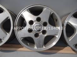 Nissan. 6.0x15, 6x139.70, ET35, ЦО 100,0мм.