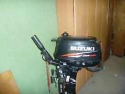 Suzuki. 4,00л.с., 4х тактный, бензин, нога S (381 мм), Год: 2014 год