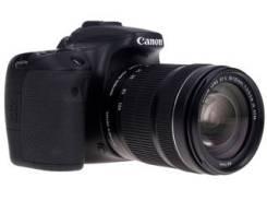 Canon EOS 70D Kit. 20 и более Мп, зум: 7х