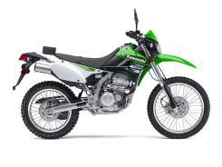 Kawasaki KLX 250. 249 куб. см., исправен, птс, с пробегом