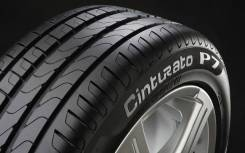 Pirelli Cinturato P7. Летние, 2016 год, износ: 5%, 4 шт