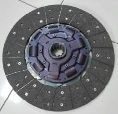 Диск сцепления 395 mm 10 шлицов Daewoo Novus DL06K / 3312000390 / VKD37193 ( 395*240 )