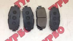 Колодка тормозная. Toyota Vitz, NCP91 Toyota Yaris, KSP90, ZSP90 Двигатели: 1NZFE, 2ZRFE, 1KRFE