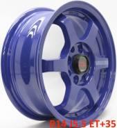 RAYS VOLK RACING TE37 Gravel. 5.5x14, 4x100.00, 4x110.00, ET35, ЦО 73,1мм.
