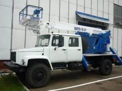 Випо-18. Автогидроподъемник ВИПО-18-01 на шасси ГАЗ-33081/33088 (4х4) (5м. каб), 18 м.