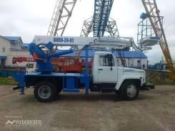 Випо-24. Автогидроподъемник ВИПО-24-01 на шасси ГАЗ-3309 (4х2) 5м. кабина, 24 м.