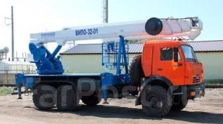 Випо-36. Автогидроподъемник ВИПО-36-01 шасси Камаз-43118 (6х6), 36м.