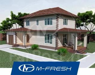 M-fresh Compact Bonus-зеркальный (На втором этаже три спальни! ). 100-200 кв. м., 2 этажа, 5 комнат, бетон