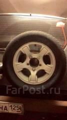 Продам диски вместе с зимней резиной. 5.5x16 5x139.70 ET22 ЦО 110,1мм.