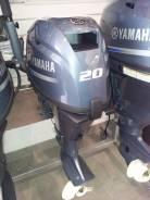 Yamaha. 20,00л.с., 4-тактный, бензиновый, нога S (381 мм), Год: 2017 год