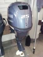 Yamaha. 25,00л.с., 4-тактный, бензиновый, нога S (381 мм), Год: 2017 год