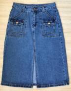 Юбки джинсовые. 44, 46