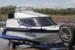 Казанка-2. Год: 2005 год, длина 6,00м., двигатель стационарный, 180,00л.с., бензин