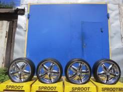 Dolce Wheels. 7.5x18, 4x100.00, 4x114.30, ET45, ЦО 74,0мм.
