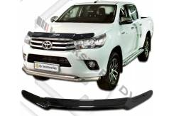 Дефлектор капота. Toyota Hilux Pick Up Toyota Hilux