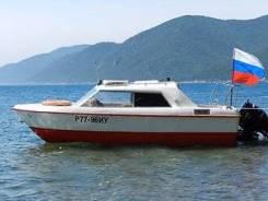 Русбот-55. Год: 1997 год, длина 5,60м., двигатель подвесной, 90,00л.с., бензин