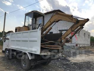 Услуги Самосвала и экскаватора вывоз мусора