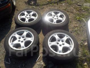 Комплект колес Subaru 205/55R16. 7.0x16 5x100.00 ET53