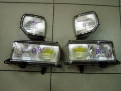 Фара левая+правая +габариты комплект LAND Cruiser 80 93-