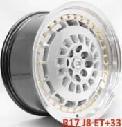 Новые! Zen R17 J8 ET+33 4X100/114.3 [2600]. 8.0x17, 4x100.00, 4x114.30, ET33, ЦО 73,1мм.