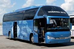 Higer. Туристический автобус KLQ 6122B 49-51 мест, 8 880 куб. см., 51 место