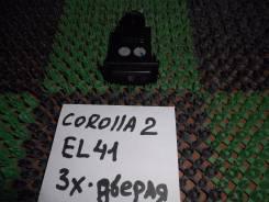 Кнопка включения обогрева. Toyota Tercel, EL42, EL43, EL40, EL41, NL40, EL45 Toyota Corsa, EL41, NL40, EL43, EL45 Toyota Corolla II, EL45, EL43, NL40...