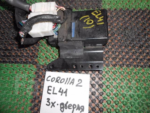 Блок управления комфортом Toyota Corolla2 EL41. Toyota: Corsa, Sera, Corolla II, Paseo, Tercel, Cynos, Corolla 2 Двигатели: 4EFE, 5EFE, 5EFHE, 1NT
