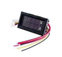 Цифровой ампервольтметр DSN VC288 DC 0-100V 10А itslab