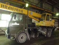 Ивановец КС-35714. Автокран на базе МАЗ 53371, 14 000 кг., 14 м.