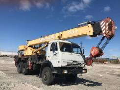 Галичанин КС-55713-4. Продаётся кран автомобильный КС-55713-4 на шасси Камаз 53228С, 10 850 куб. см., 25 000 кг., 21 м.