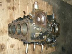 Блок цилиндров. Nissan Prairie, BM10 Двигатель E15S