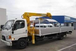Hyundai HD78. КМУ HD- 78 + Soosan SCS334 борт алюм. 6,2*2,55*0,6м., 4 000 куб. см., 4 500 кг.