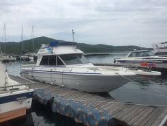 Searay. Год: 1992 год, длина 9,00м., двигатель стационарный, 400,00л.с., дизель