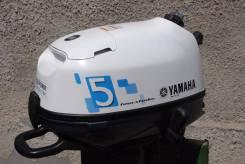 Yamaha. 5,00л.с., 4х тактный, бензин, нога S (381 мм), Год: 2015 год
