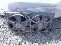 Радиатор охлаждения двигателя. Chery Amulet Двигатель SQR480