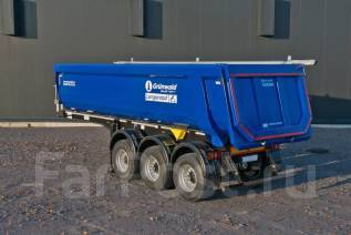 Grunwald. Новый самосвальный полуприцеп 22 m3, 28 000 кг.