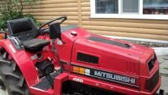 Mitsubishi MT20. Японский мини трактор Mitsubishi Митсубиси мт-20, 1 170 куб. см.