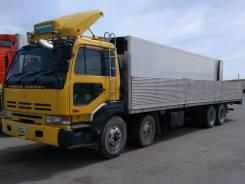 Nissan Diesel. Продается бортовой грузовик 15 тонник кузов 9 метров, 17 000куб. см., 15 000кг.