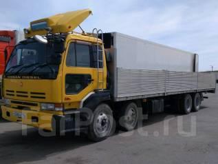 Nissan Diesel. Продается бортовой грузовик 15 тонник кузов 9 метров, 17 000 куб. см., 15 000 кг.