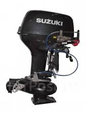 Suzuki. 30,00л.с., 2х тактный, бензин, нога L (508 мм), Год: 2017 год