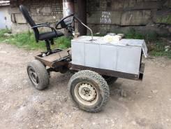 Самодельная модель. Продам самодельный мини трактор, 270 куб. см.