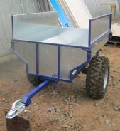 Прицеп для квадроцикла ATV Iron Farmer. Г/п: 400 кг., масса: 90,00кг.
