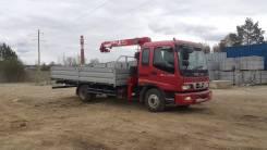 Foton Auman. BJ1093 бортовой с КМУ, 3 990 куб. см., 9 700 кг.