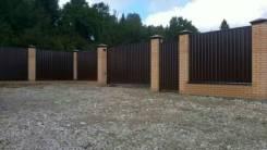 Заборы, ворота, металлоконструкции.