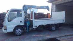 Isuzu Elf. Продается грузовик с манипулятором Isuzu ELF 2003 год, 4 777 куб. см., 4 000 кг.