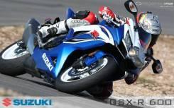 Suzuki GSX-R 600. 600 куб. см., исправен, птс, с пробегом